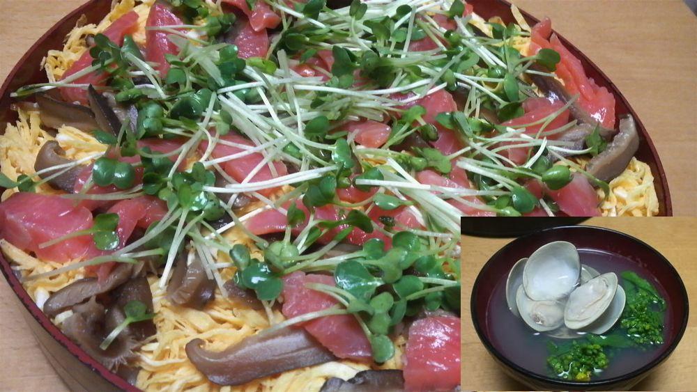 ひなまつりのチラシ寿司