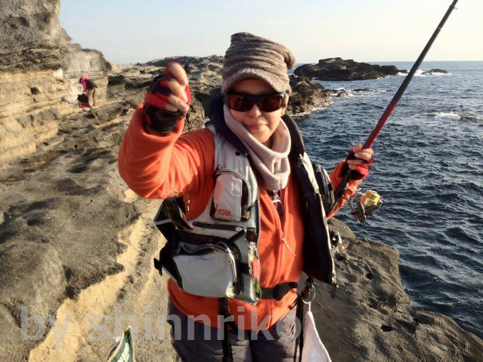 shinnrikoが釣ったのは・・・海タナゴ