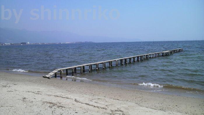 琵琶湖 湖西 真の浜