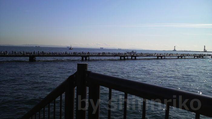 本牧海釣り施設桟橋