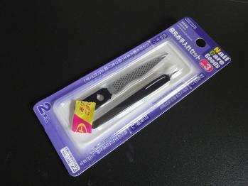 100円ショップで爪やすりを購入しました。