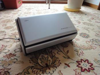 電子書籍自炊用に購入したScanSnap S1500をセットアップしました。