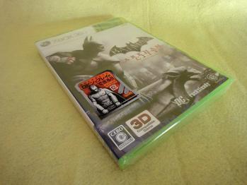 XBOX360版 バットマン アーカムシティを購入しました。