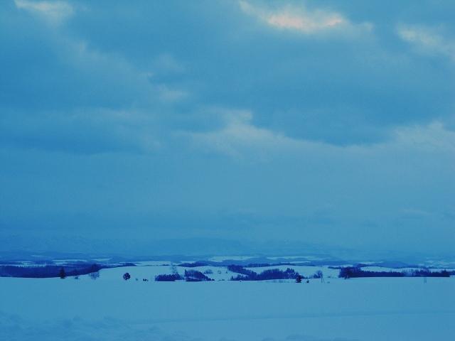 s-雲がなければ…十勝岳連峰が見えるのに。