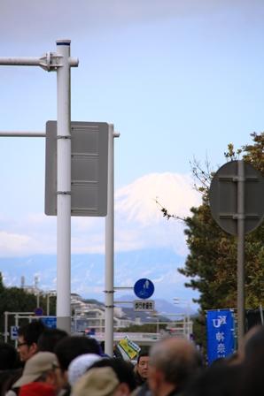 富士山の応援