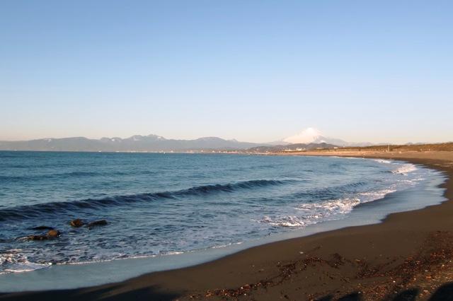 サザンビーチの海岸線