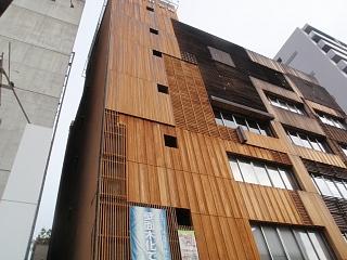 大阪木材会館で