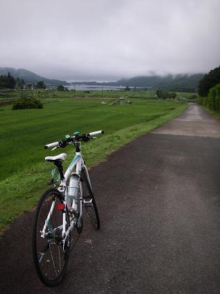 早朝 自転車その1