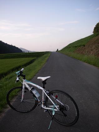 早朝 自転車その2