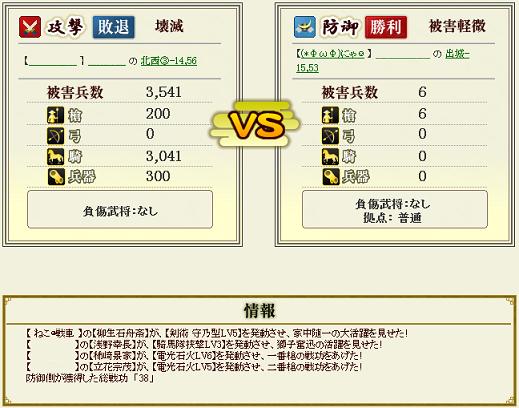 第2戦の防衛①
