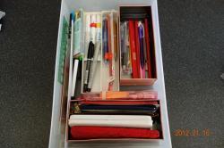 筆記具の買い替えビフォー