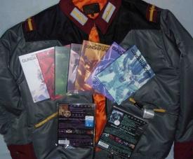 ガンダムUCのブルーレイと公式ライセンス衣装