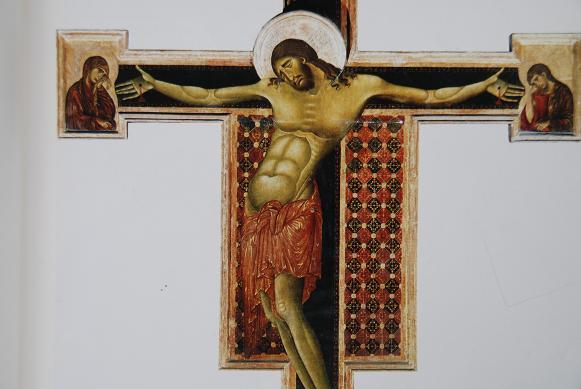 DSC_2052チマブーエ・アレッツォ・十字架のキリスト
