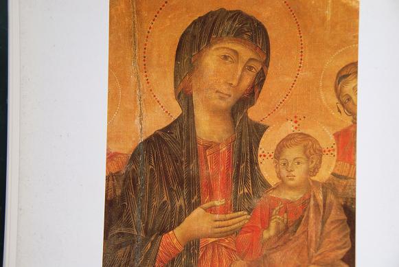 DSC_2057ウフィツィの荘厳の聖母