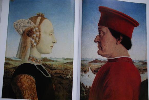 フェデリコ公夫妻の肖像画