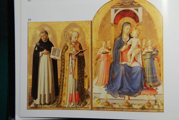 アンゼリコの玉座の聖母子