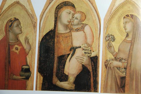 DSC_2586マクダラのマリアとドロテアの間にいる聖母子