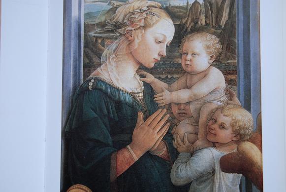 聖母子と2人の天使・ウフィツィ