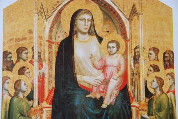 DSC_2078ウフィツィのオニッサンティの聖母