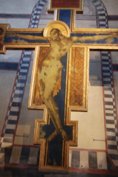 チマブーエの「十字架像」