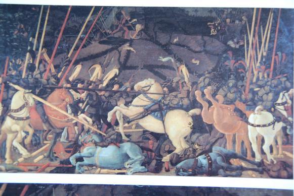 ロマーノの戦い・ウッチェロ・ウフィツィ