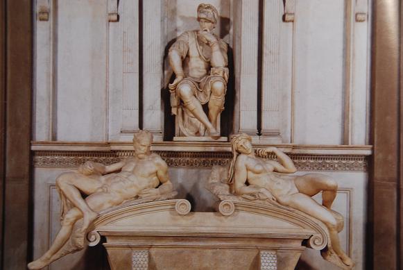 メデチの墓・新聖具室・ロレンツォ聖