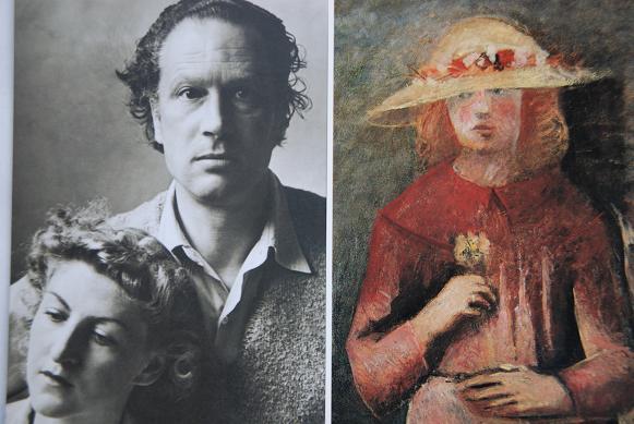 マリーノ夫妻と帽子を被る少女