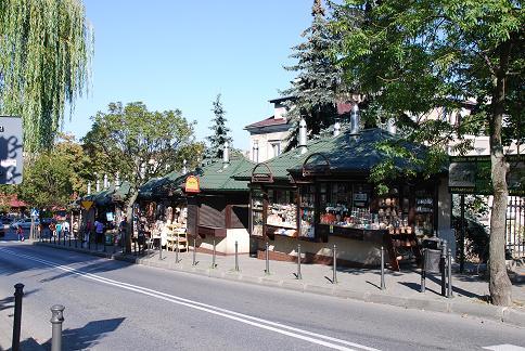 ヴィエリチカの町