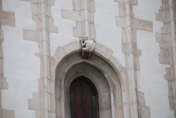 ヤコブ教会「お尻ペロン」