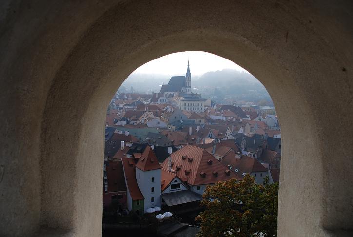 城からの眺め①