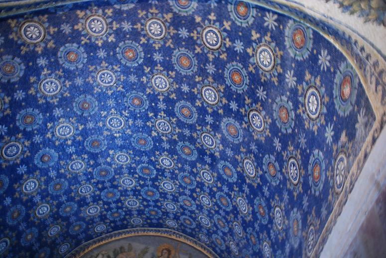 『旅行』「イタリア旅行」ラヴェンナのガッラ廟