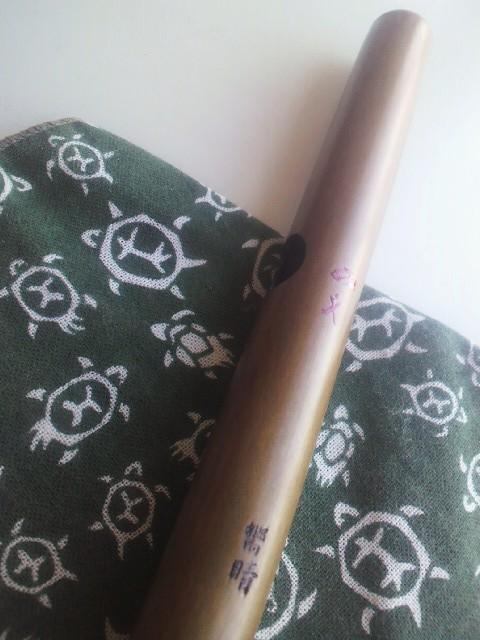 獅子笛 六孔 素竹笛