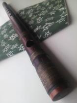 古典調 六本調子 天地巻 煤竹笛