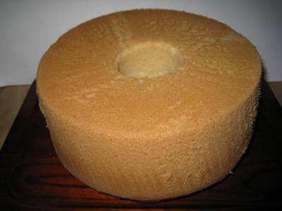 シフォンケーキ 丸ごと