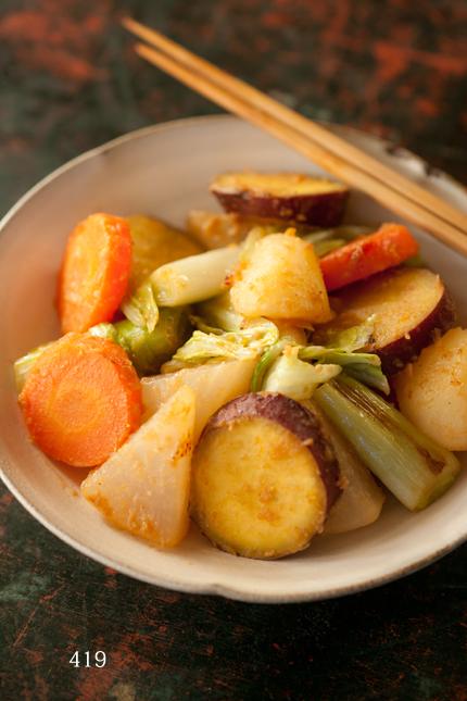 蒸し野菜炒め2