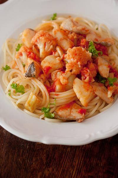 タラのスパゲッティ2