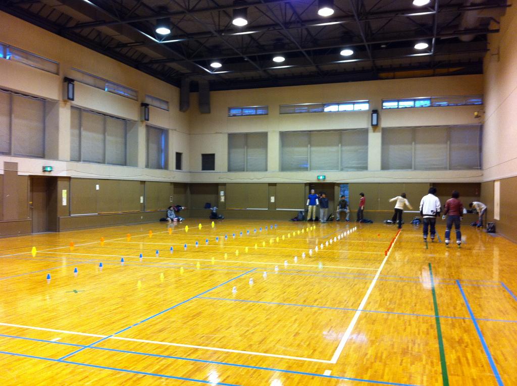 2011.02.27_飯能市民体育館