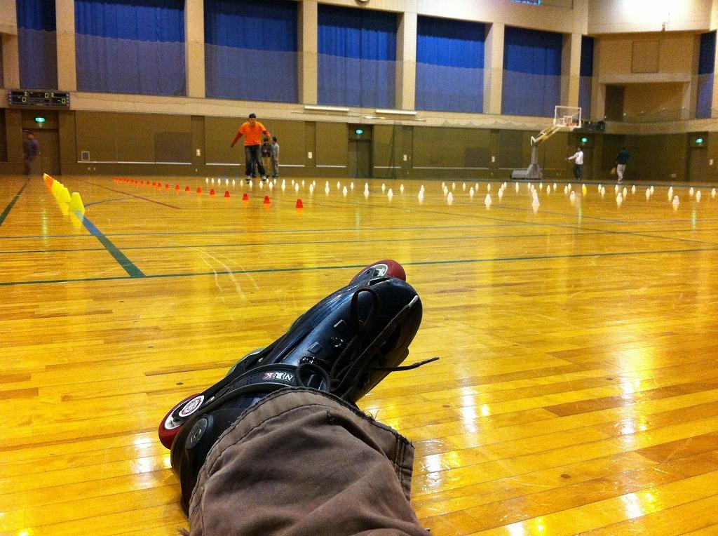 2011.02.12_飯能市民体育館練習