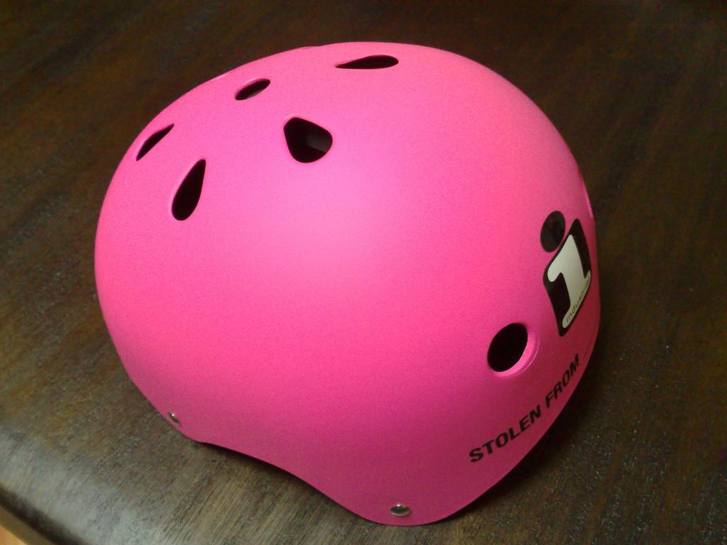 うさこさんヘルメット(1)