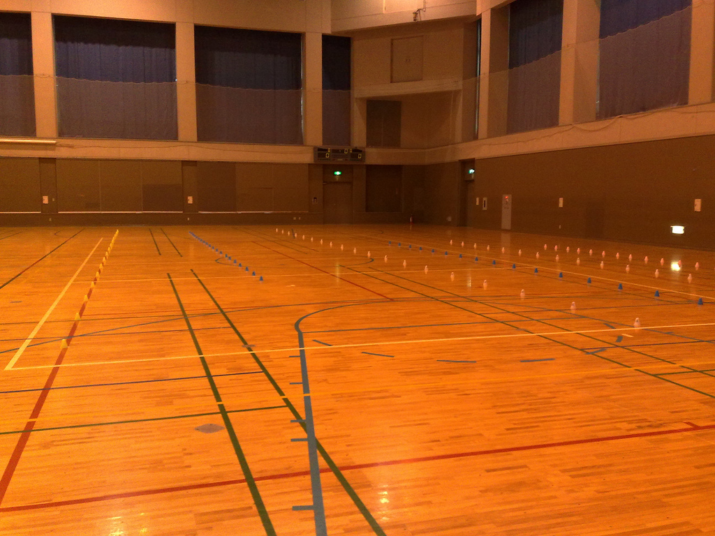 飯能市民体育館(2)