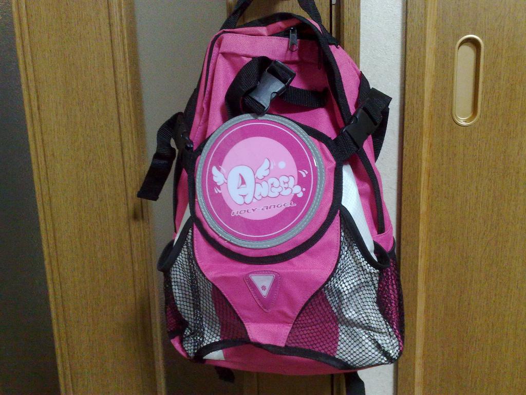 Holy Angel backpack(1)