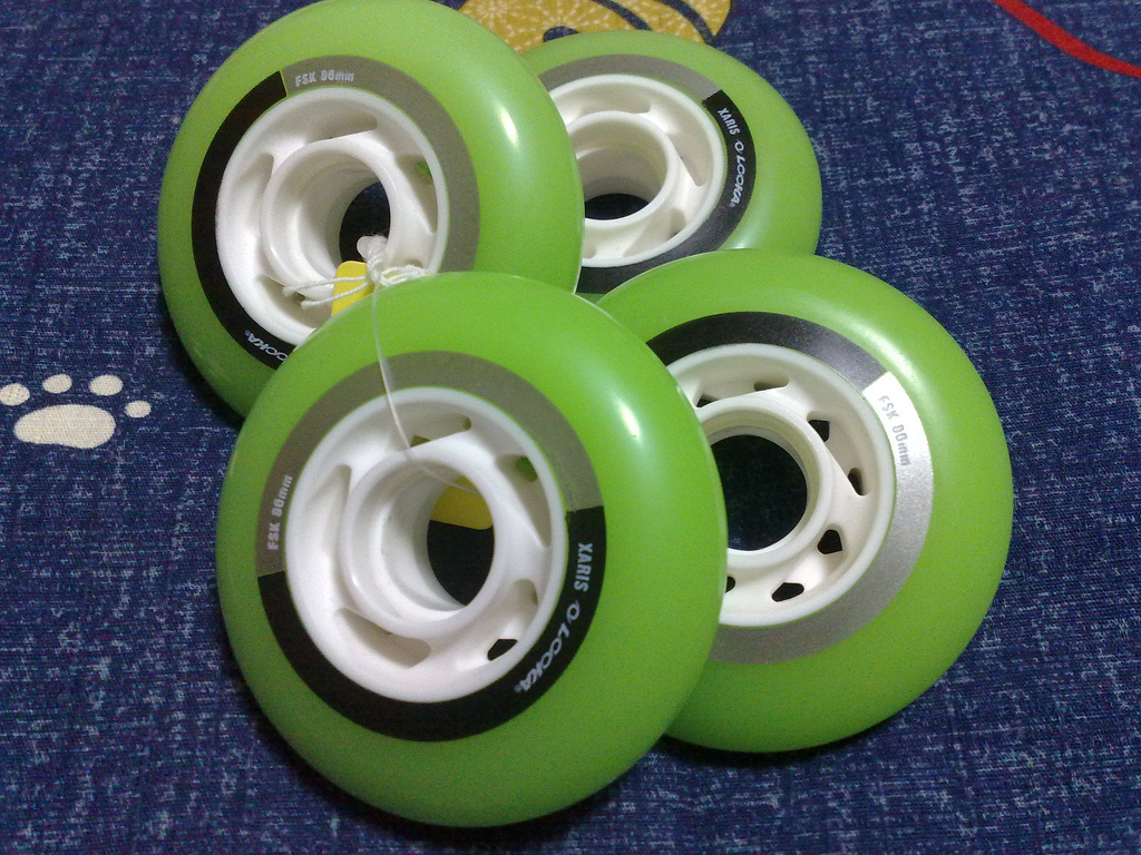 LOOKA wheels 80mm green