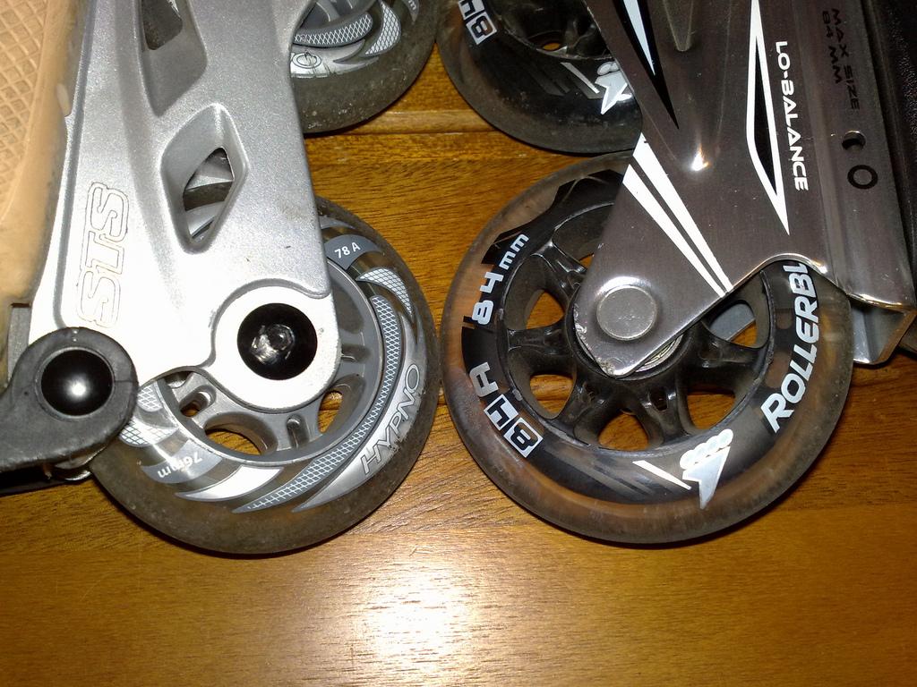 HypnoとROLLERBLADEのwheel