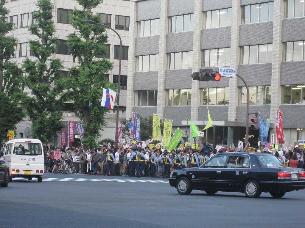 2012.06.29_大飯原発再稼動反対デモ@総理官邸前 (3)