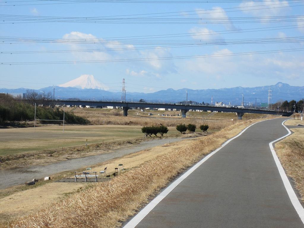 1_雁見橋より富士山を望む