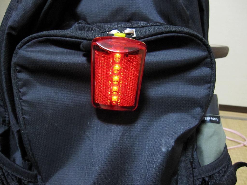 赤色フラッシュ灯