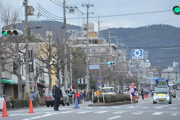 大きく引き離されて2位京都