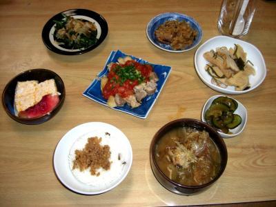 2011.8.24.本日の夕飯