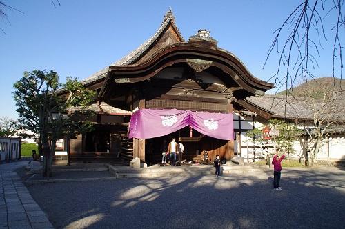 0709醍醐三宝院玄関