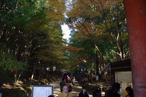 0722醍醐寺西門からの撮影